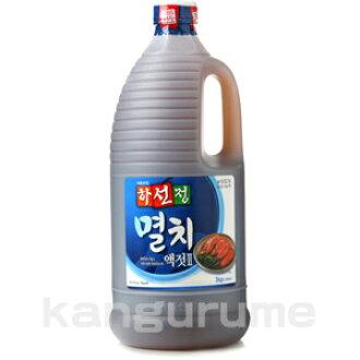 "Extract / sardine of the ""ハソンジョン"" sardine extract 2.5 kg ■ Korea food ■ Korean food / Korea ingredients / seasoning / fish"