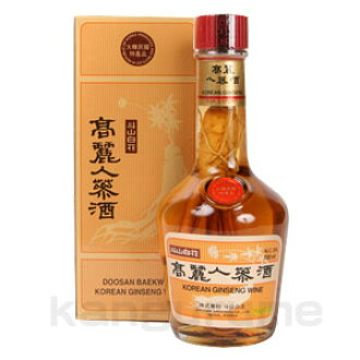 Koryo ginseng wine 700 ml ■ Korea food ■ rolling response / Korea food material / Korea cuisine / Korea souvenir and liquor / Korea liquor / Korea liquor / Korea traditional liquor gift and gift / Korea souvenirs / gifts / Midyear / father's day
