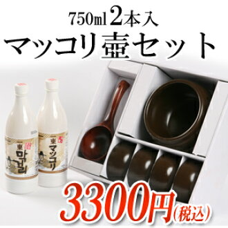 One East makgeolli family set ■ Korea food ■ low-price Korea food materials and Korea cuisine and Korea souvenir / Korea alcohol makgeolli Korea makgeolli / Marco reset /