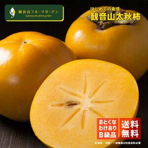 太秋柿 やんちゃ坊主 訳ありB級品 6kg 観音山フルーツガーデン 送料無料 予約商品