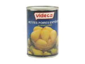 スペイン産 プチポワール ミニ洋梨缶詰 4号缶(常温)