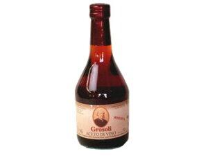 【エントリーで最大600Pプレゼント】アドリアーノ グロソリ社 ワインビネガー赤 リゼルヴァ 500ml 【常温】