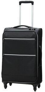 エントリー&3980円以上でポイント3倍/Vivache ビバーシェ 軽量2.3kg キャリーバッグ スーツケース TSAロック Mサイズ 45L VK-C 軽量2.3kg 4輪キャスター ハードキャリー キャリーケース 旅行カバン メ