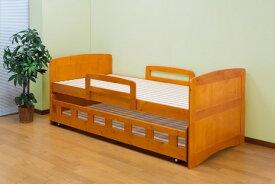 本日4/1はでポイント3倍/【送料無料】通気性の良い 2段すのこベッド 親子ベッド 2段ベッド 下段収納スペース