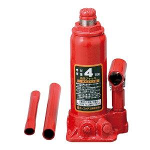 9/21-26はポイント最大44倍/OH 油圧ジャッキ 4ton OJ-4T 最高位372mm 最低位194mm オーバーロード防止機構付 ボトルジャッキ 4963360500442