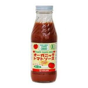 2010198-ms オーガニックトマトソース・あっさり味365g【ヒカリ】