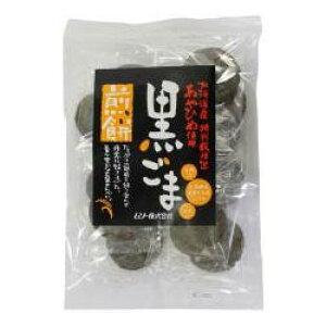 2032653-ms 黒ごま煎餅・特別栽培米あやひめ使用15枚【ムソー】