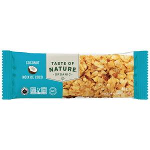 2033326-1-ms Taste of Natureオーガニックフルーツ&ナッツバー・ココナッツ 40g×16本セット【むそう】