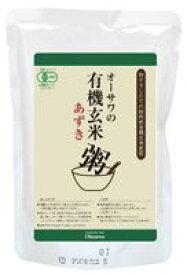 【1〜4個はメール便対応可】【オーサワ】有機玄米あずき粥 200g