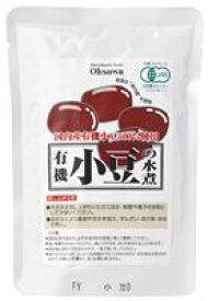 【1〜2個はメール便対応可】【オーサワ】オーサワの有機小豆の水煮 230g(固形量200g)