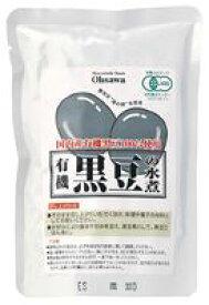 【1〜2個はメール便対応可【オーサワ】オーサワの有機黒豆の水煮 230g(固形量140g)