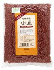 3002654-os 有機栽培小豆(北海道産) 1kg【オーサワ】【数量限定】