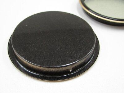 黒/金縁表面69mm底寸法60mm引手2個と引手用釘4本H-21取っ手安い