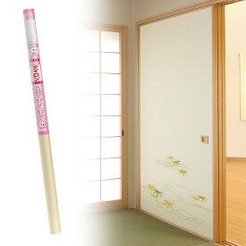 ふすま紙 アイロンで貼るタイプ『笹竹』優雅な露草と爽やかな笹竹(95cm×185cm/2枚入)襖紙 モダン おしゃれ AT-502