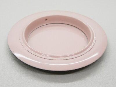 ふすま襖引手洋風ピンク色表面73mm底寸法48mm引手2個と引手用釘4本H-02安い可愛い優しい取っ手和洋室