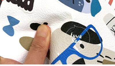 壁紙シール貼ってはがせるウォールステッカー「おすましワンちゃん」壁ペタっステッカー【クリックポスト送料無料】