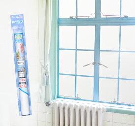 浴室の目隠しシート 凸凹ガラス用 シルエットガード プレーン無地 46cm×90cm(SD-S01)シールタイプ UV(紫外線)99%カット 水・カビに強い粘着剤を使用【お風呂 凹凸ガラスSDS01P