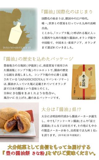 豊の醤油餅醤油の歴史