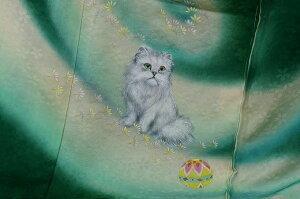 ペルシャ猫振袖ー2