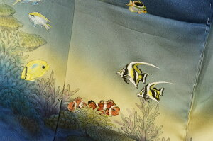熱帯魚振袖ー2