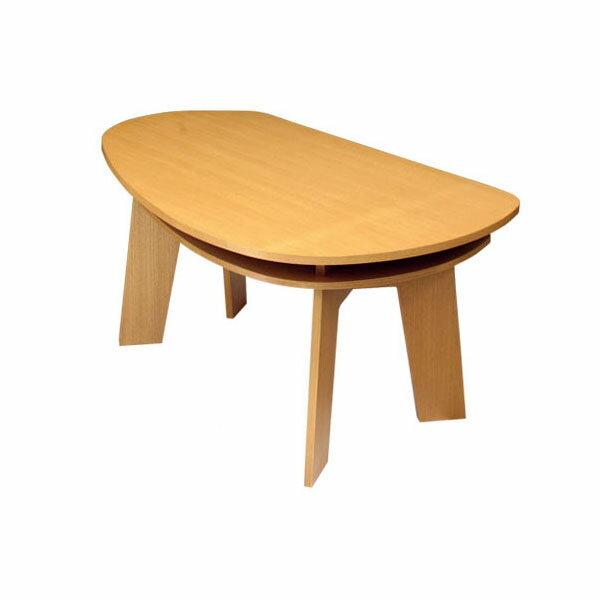 収納付き ダイニングテーブル 150 SHUNO(シュノ)【北欧 変形 丸テーブル 日本製 国産】
