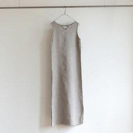 fog linen work(フォグリネンワーク) リア ノースリーブ ナイトシャツ ナチュラル[LHW068-N]