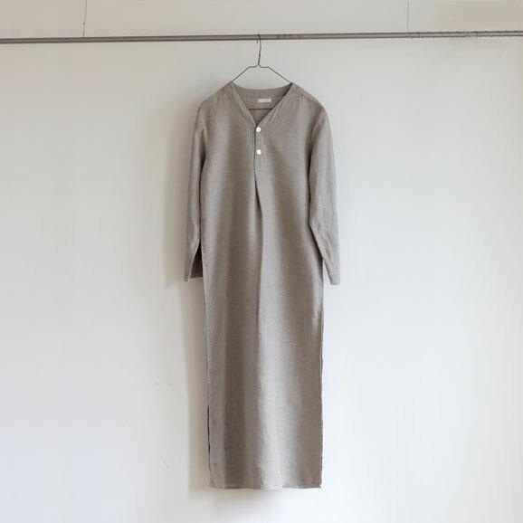 fog linen work(フォグリネンワーク) スピカ ナイトシャツ ナチュラル[LHW069-N]