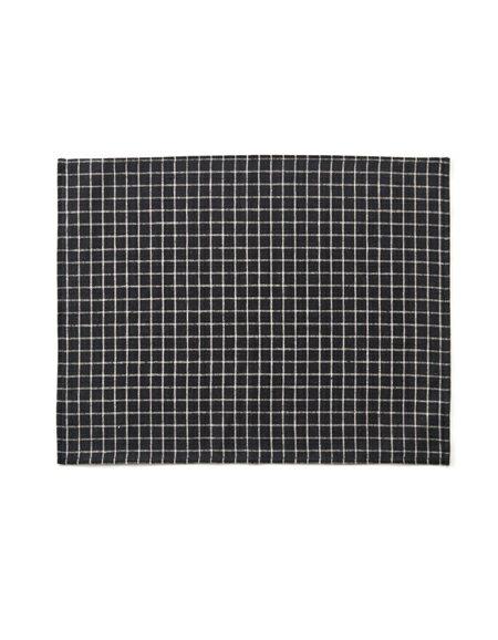 【全色展開中】fog linen work(フォグリネンワーク) リネンプレイスマット セシル [LTM114-BKPL]