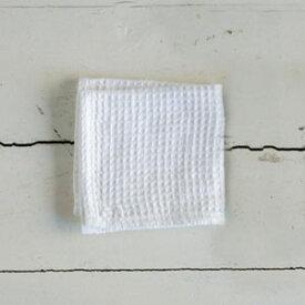 fog linen work(フォグリネンワーク) リネンワッフル タオル Sサイズ ホワイト [LHT071S-WH]