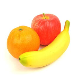 お供え果実 3点セット ◆あす楽対応◆ イミテーションフルーツ フェイクフルーツ 果物 御供 供物 仏具 かわいい りんご オレンジ バナナ 贈答 お供 ペット 犬 猫