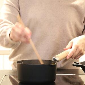 \製品保証付き!/天ぷら鍋南部鉄器岩鋳揚げ鍋16cm木柄付き日本製