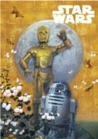 STAR WARS スターウォーズ ポストカード 和風 C-3PO & R2-D2