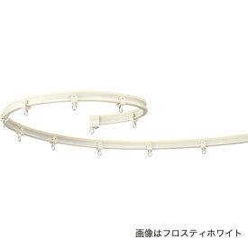 カーテンレール 曲がる カーブレール 手で曲げられる タチカワ ブラインド V6 (3M)