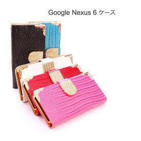Nexus6 ケース/カバー 手帳 レザー ラインストーン きらきら おしゃれ ネクサス6 手帳型レザーケース/カバー おすすめ スマフォ スマホ スマートフォンケース/カバー