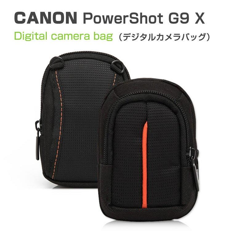 PowerShot G9 Xケース ポーチ カバン型 軽量/薄 CANON G9 X/G7 X対応ケース デジタルカメラバッグ