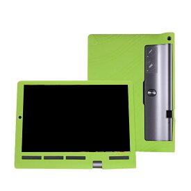 Lenovo YOGA Tab 3 Pro 10 ケース/カバー 耐衝撃 シリコンケース/カバー 10インチ 軽量/薄/シリコン ブックカバータイプ レノボ ヨガタブレット3 ケース/カバー ブレットPC ケース/カバー