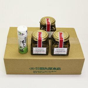【産直商品】旨味オイル120g×3個・わさび塩20g