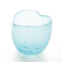 ぐい呑みの琉球ガラス