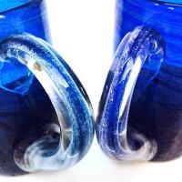 琉球グラスのビアマグ