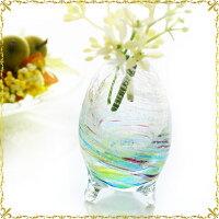 琉球ガラスの花瓶