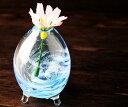 琉球ガラス ミニ 花瓶 一輪挿し 琉球 ガラス おしゃれ ガラス花瓶 一輪挿しガラス花瓶 フラワーベース 沖縄ガラス 結婚祝い 引き出物 結婚式 誕生日プレゼン...