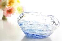 琉球ガラスの灰皿