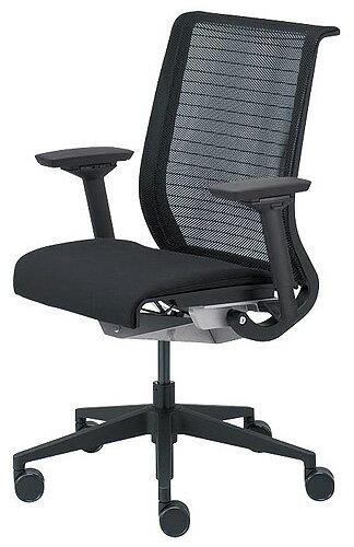 【手に届く贅沢】Steelcase THINK 13101型 肘付き スチールケース シンク メッシュ ブラックフレーム イス 椅子 オフィス家具 いす パソコンチェア ワークチェア デスクチェア リクライニング 腰痛 疲れにくい おしゃれ