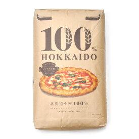 江別 100%HOKKAIDO ピッツァ用粉 20kg【北海道産 小麦粉 ピザ】