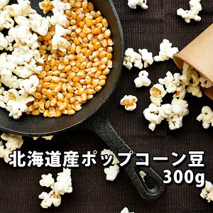 ポップコーン 豆 北海道産 300g【バタフライ とうもろこし】【ホームシアター パーティー 手作り 味付け】