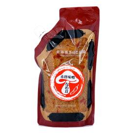 赤唐味噌なめ茸(パウチ 400g)【北海道 きのこ 王国】【お土産】【ご飯の友】【なめたけ パウチ】