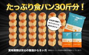 パウダースノー(春よ恋ブレンド強力粉)2kg×5袋セット(合計10kg)【送料無料】【北海道産国産小麦粉】【ホームベーカリー食パンレシピパン材料】