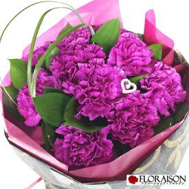 【上品な花色と日持ちの良さが人気!】ムーンダスト カーネーション プリンセスブルー 【誕生日 結婚記念日 クリスマス 花束 おしゃれ 人気花束 スタンディングブーケ そのまま飾れる花束 紫 ギフト 青い花 花 花束 送料無料】