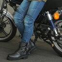 バイク ブーツ レディース WILD WING ライダーズリングブーツ ファルコン 厚底 WWM-0001ATU バイク用品 バイク用 シュ…