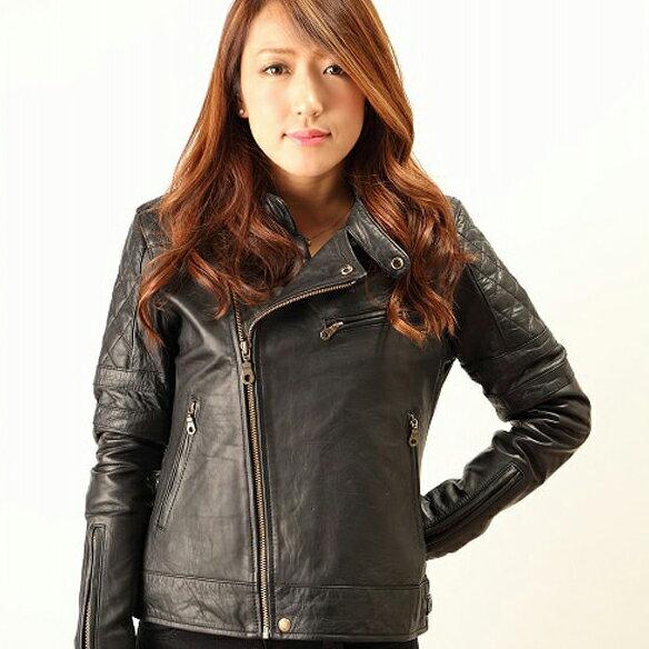 バイク ジャケット レディース DEGNER レディースレザージャケット Ladies Leather Jacket FR15WJ-5 【送料無料】